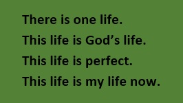 There is One Life